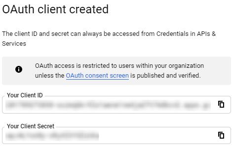 Add Credentials 4
